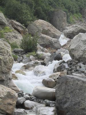 Alpen, Auvergne-Rhône-Alpes, Fluß, Frankreich, La Berarde, Veneon, Venosc