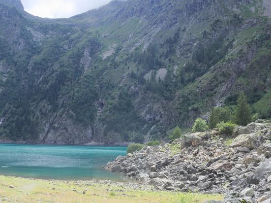 Alpen, Auvergne-Rhône-Alpes, Bergsee, Frankreich, Lac Lauvitel, See, türkis, Venosc