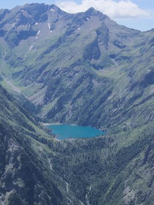 Alpen, Auvergne-Rhône-Alpes, Frankreich, Lac Lauvitel, Pied Moutet, Venosc
