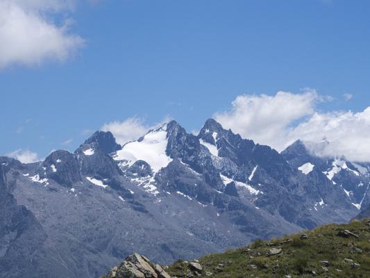 Alpen, Auvergne-Rhône-Alpes, Frankreich, Pied Moutet, Venosc