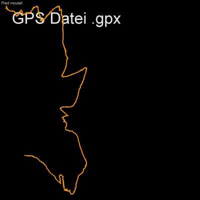 Alpen, Ecrin, Veneon, Frankreich, Venosce, Höhenmeter 950m, Länge 9km, GPX Route, GPS Daten