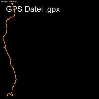 Berarde, Alpen, Ecrin, Veneon, Frankreich, Venosce, Höhenmeter 500m, Länge 13km, GPX Route, GPS Daten