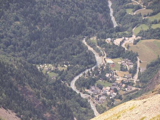 Alpen, Auvergne-Rhône-Alpes, Frankreich, Tete de la Toura, Venosc