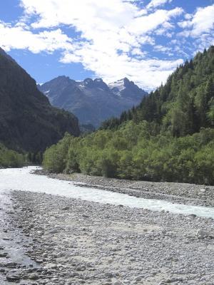 Alpen, Auvergne-Rhône-Alpes, Frankreich, Lanchatra, Veneon, Venosc
