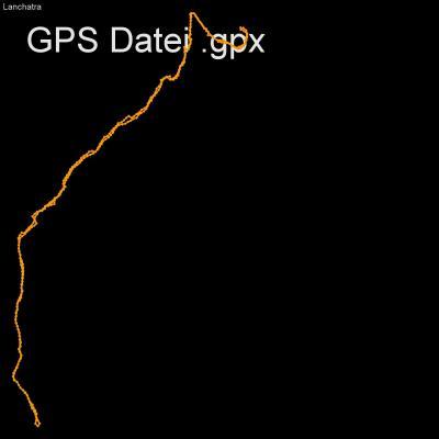 Lanchatra, Alpen, Ecrin, Veneon, Frankreich, Venosce, Höhenmeter 650m, Länge 8km, GPX Route, GPS Daten
