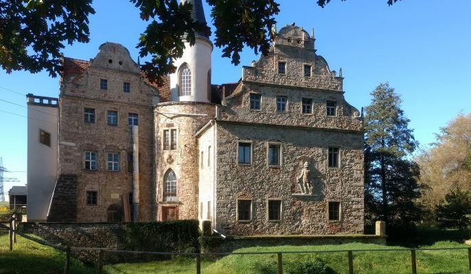 Oberau, Schloss, Wasserschloss