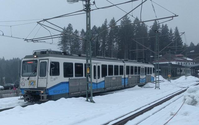 Bahnhof, Eisenbahn, Zahnradbahn