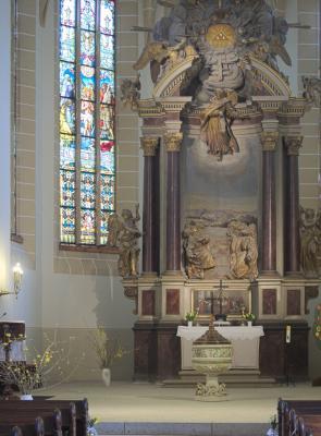 Ketzerbachtal, Kirche, Lommatzscher Pflege