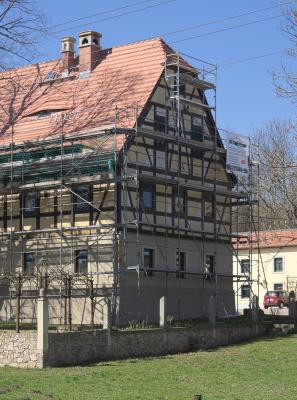 Architektur, Fachwerk, Ketzerbachtal, Lommatzscher Pflege