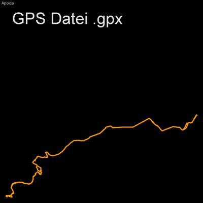 Fahrrad, Ilm, Apolda, Weimar, Höhenmeter 275m, Länge 40km, GPX Route, GPS Daten