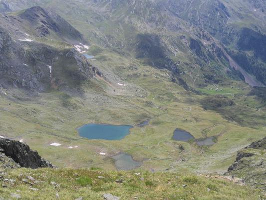 Alpen, Bergsee, Gipfel, Kreuzeck, Kreuzeckgruppe, Mitten und Umgebung, Österreich