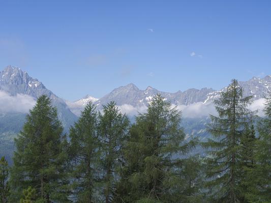 Alpen, Goldberggruppe, Mitten und Umgebung, Schobergruppe, Wolken, Österreich