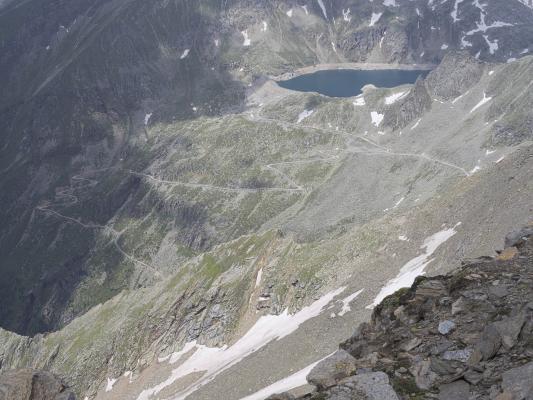 Alpen, Goldberggruppe, Mitten und Umgebung, Sandkopf, Österreich