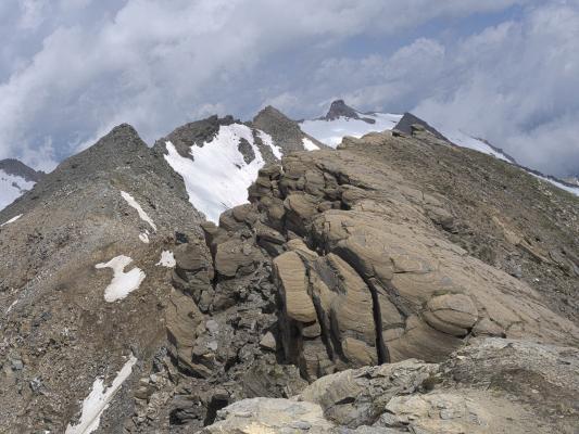 Alpen, Gipfel, Goldberggruppe, Mitten und Umgebung, Sandkopf, Österreich