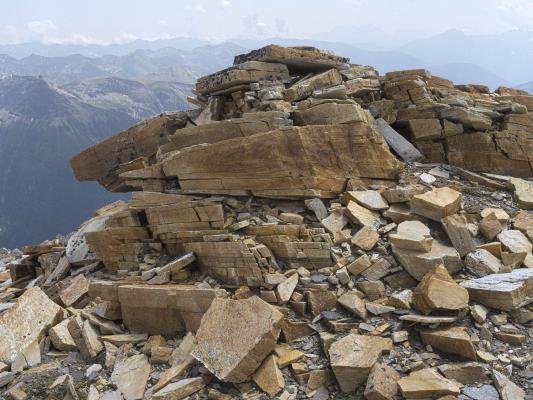 Alpen, Goldberggruppe, Mitten und Umgebung, Sandkopf, Steine, Österreich