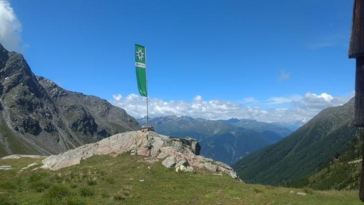 Hochschoberhütte, Leibnitzalm Hochschoberhütte, Leibnitze, Mitten und Umgebung, Schobergruppe, Österreich