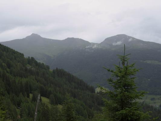 Egg, Egger Wiesen, Fleckenkopf, Mitten und Umgebung, Schobergruppe, Zoggleralm, Österreich