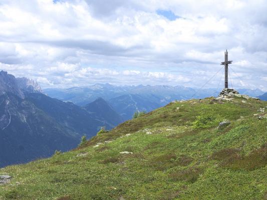 Drautal, Gipfel, Gipfelkreuz, Mitten und Umgebung, Österreich