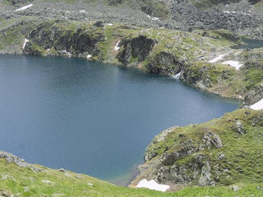 Alpen, Bergsee, Mitten und Umgebung, Schobergruppe, See, Wangenitztal, Österreich
