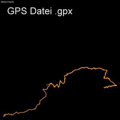 Asten, Makernispitze, Mitten, Alm, Alpen, Hohe Tauern, Oesterreich, Höhenmeter 870m, Länge 10km, GPX Route, GPS Daten