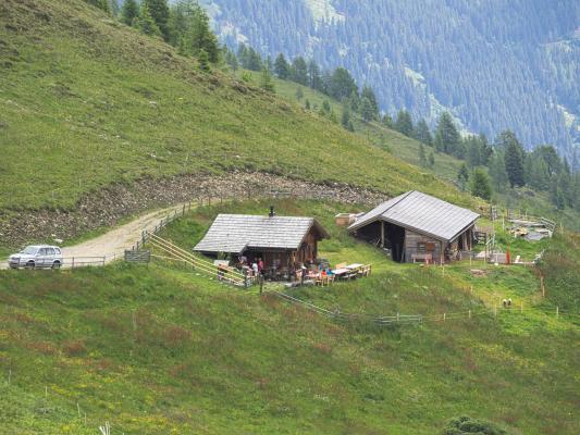 Alpen, Goldberggruppe, Mitten und Umgebung, Österreich
