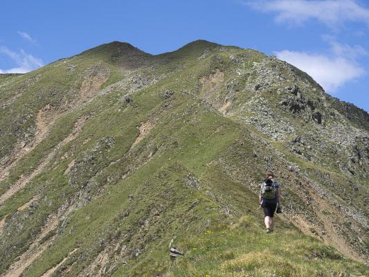 Alpen, Goldberggruppe, Melenkopf, Mitten und Umgebung, Österreich