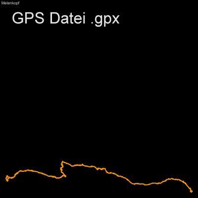 Melenkopf, Mitten, Alm, Alpen, Hohe Tauern, Oesterreich, Höhenmeter 730m, Länge 8km, GPX Route, GPS Daten