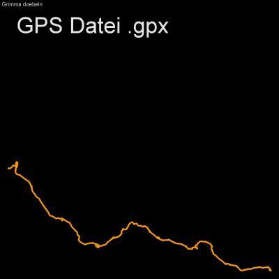 Fahrrad, Wein, Mulde, kloster Buch, Grimma, Rittergut, Höhenmeter 100m, Länge 43km, GPX Route, GPS Daten
