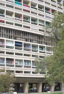 Bangkirai, Cité radieuse, Le Courbusier, Marseille
