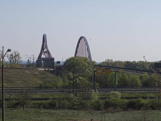 Brücke, Eisenbahnbrücke, Sachsen-Anhalt, Wittenberg