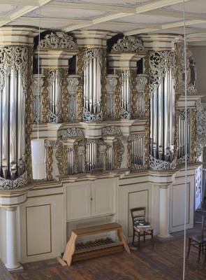 Coswig, Kirche, Orgel, Sachsen-Anhalt