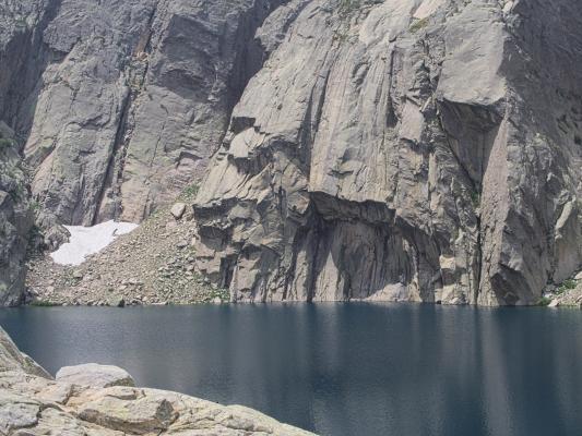 Bergsee, Corte, Frankreich, Gorges de la Restonica, Korsika