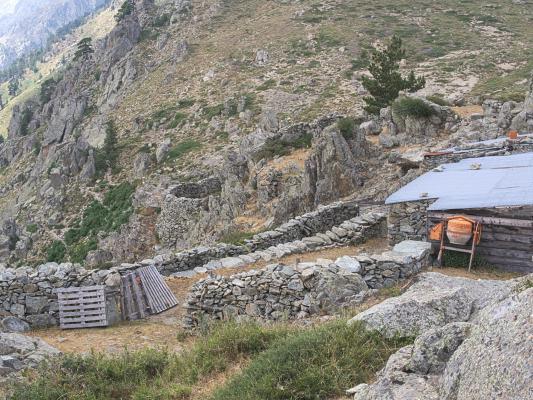 Corte, Frankreich, Gorges de la Restonica, Korsika