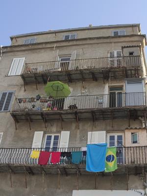 Architektur, bunt, Frankreich, Korsika