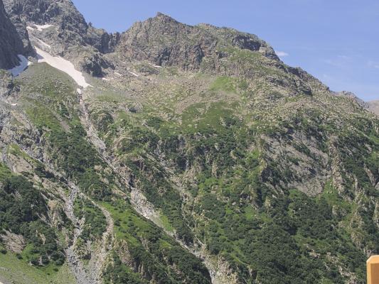 Berghütte, Frankreich, Hautes-Alpes, Valgaudemar