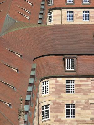 Frankreich, Architektur, Urlaub, Strasbourg, grafisch